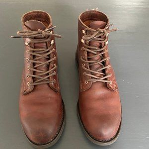 Wolverine Leather Boots w/ Vibram Sole